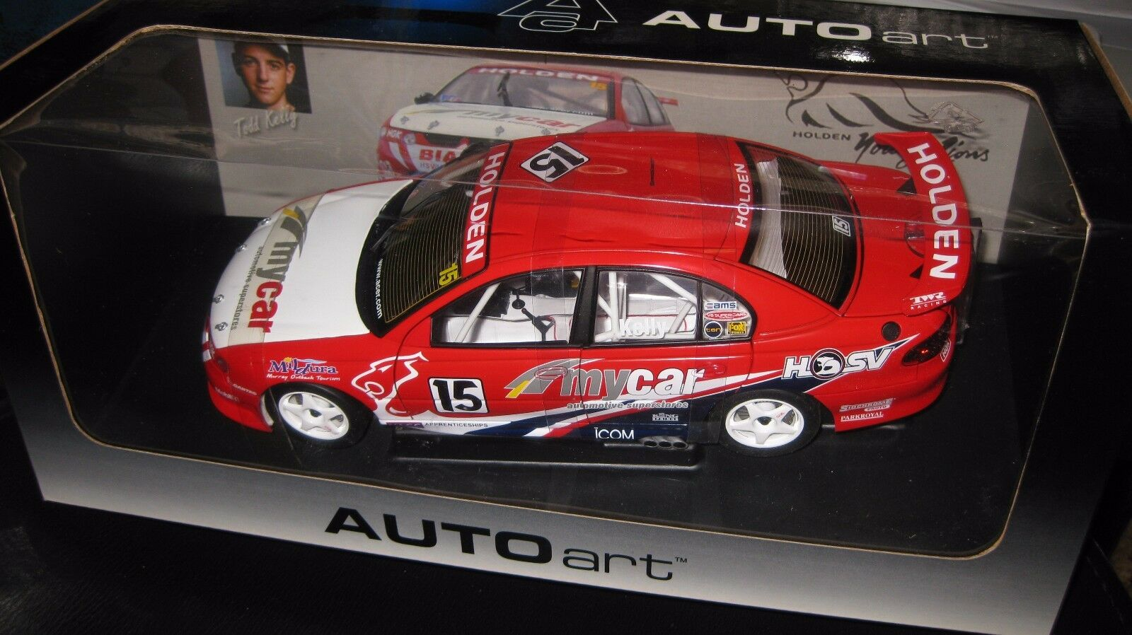 BIANTE 1.18 HOLDEN COMMODORE VT TODD KELLY YOUNG LIONS 2000 HRT