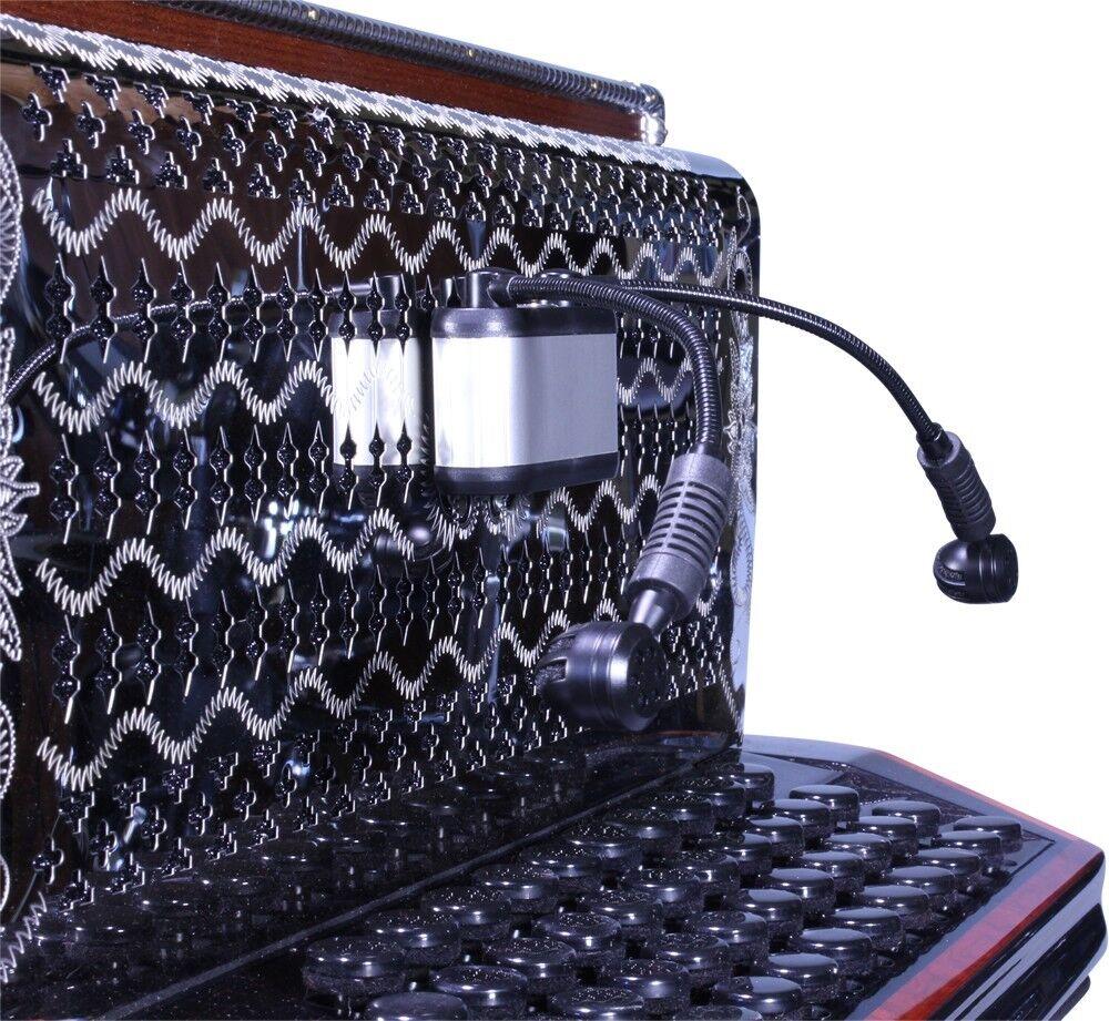 Starkrainer D2  Diskant Mikrofon für steirische Harmonika und Akkordeon