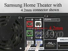 3 4.2mm speaker wire connectors made for Select Samsung Panasonic home theater;