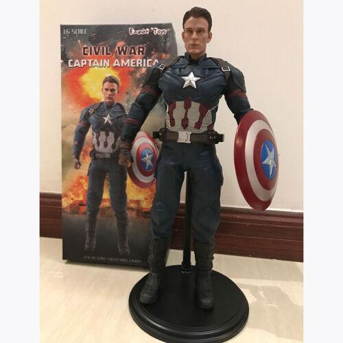CIVIL WAR  Captain America 1//6 Empire Toys PVC Figure New In Box