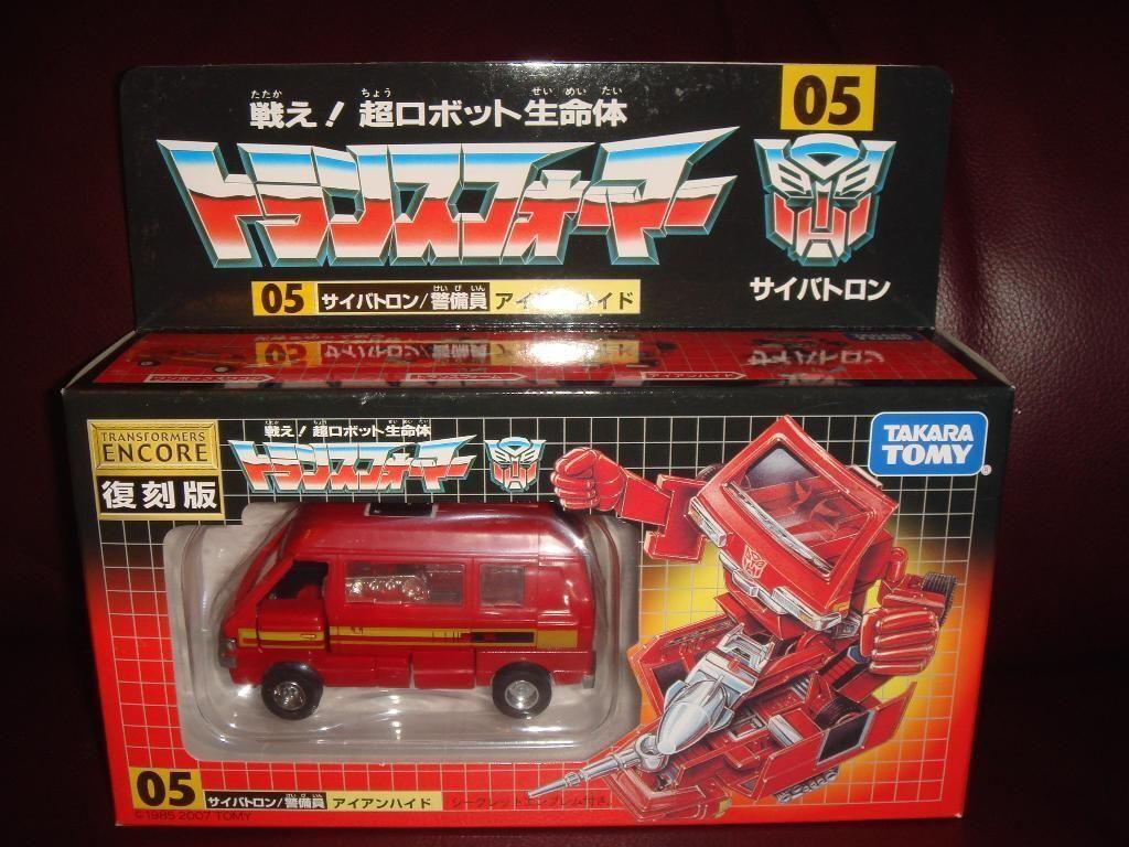 Transformers Encore 05 Ironhide MISB
