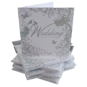 Image is loading Pack-Of-36-Simon-Elvin-Wedding-Day-Invitations-