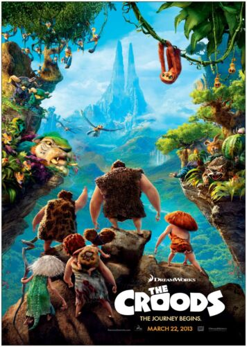 The Croods Kids Classic Large Movie Poster Print A0 A1 A2 A3 A4 Maxi