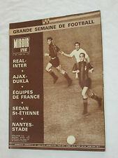 MIROIR-SPRINT N° 1083 03/1967 REAL MADRID INTER MILAN AJAX DUKLA NANTES ASSE