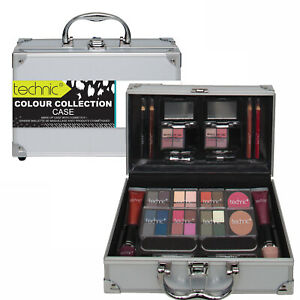 Technic-Cosmetic-Beauty-Vanity-Case-Make-Up-Storage-Box-Ladies-Colour-Collection