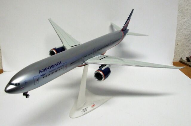 "Herpa Wings 1:200 556552 Aeroflot Boeing 777-300ER"" con Kutuzov"""