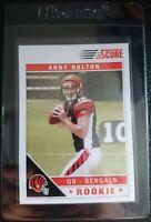 2011 Score 308 Andy Dalton Rookie Card Rc Cincinnati Bengals Gem Mint