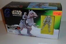 STAR WARS POTF Luke Skywalker & Tauntaun 1997 Kenner 3.75 in figure Mint in Box!