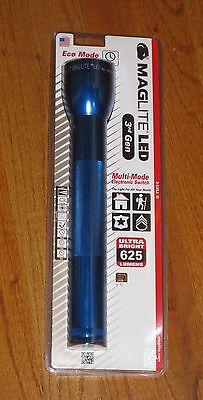 3rd Génération MagLite 2-D DEL Lampe de poche bleu Maglight 524 LM