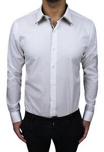 Modelo De Blanco Clase Algodón Sartoriale Camisa Hombre Diamante 0SRxxqB