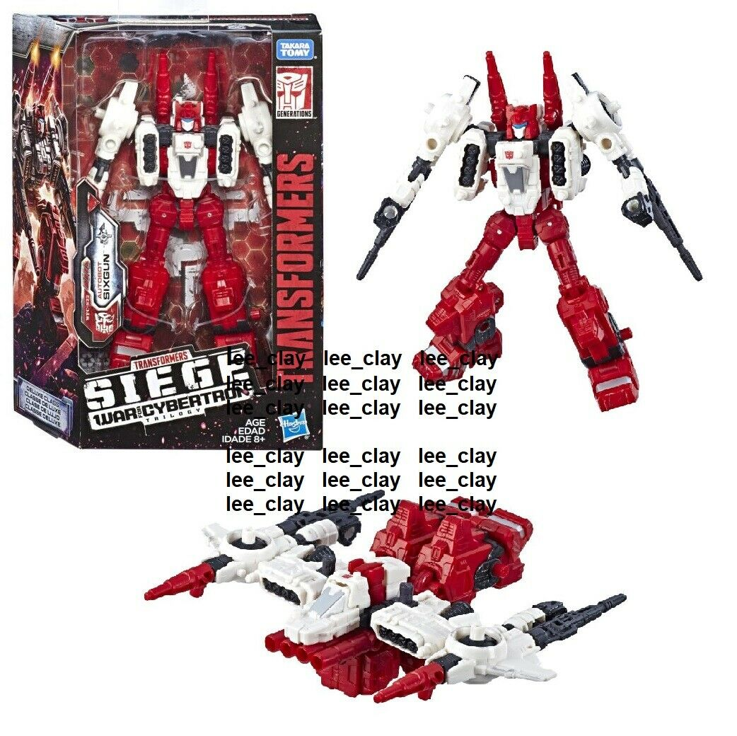 Transformers SIEGE War for for for Cybertron Deluxe Class Autobot SixGun NEW  Weaponizer 1a5d30