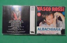 CD - VASCO ROSSI - ALBACHIARA - TARGA - 1A (VERA)  STAMPA - COME NUOVO