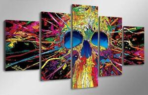 Art-Mortel-Tableau-Mural-Polyptyque-Impression-Sur-Toile-Deco-Salon-Chambre