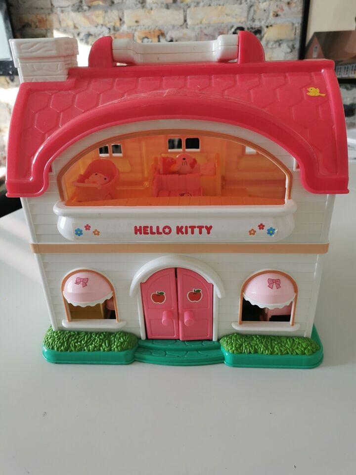 Dukkehus, Hallo Kitty hus med tilbehør