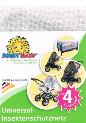 Kinderwagen Insektenschutznetz Mückenschutz Reisebett Sportwagen Sunnybaby