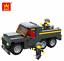 Bausteine LKW Militär Transport Figur Spielzeug DIY Kinder Modell Geschenk