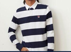 FILA Men's Blue White Stripe Oscar Long