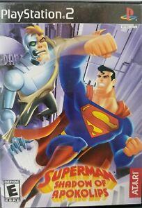 Superman-Shadow-of-Apokolips-Sony-PlayStation-2-2002-PS2-FREE-SHIPPING