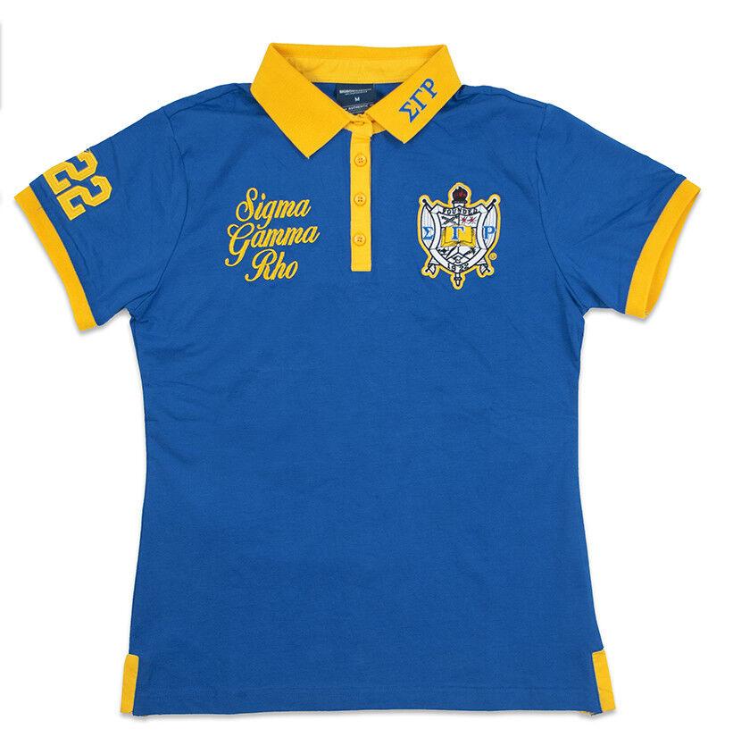 Sigma Gamma Rho Polo Shirt Short Sleeve