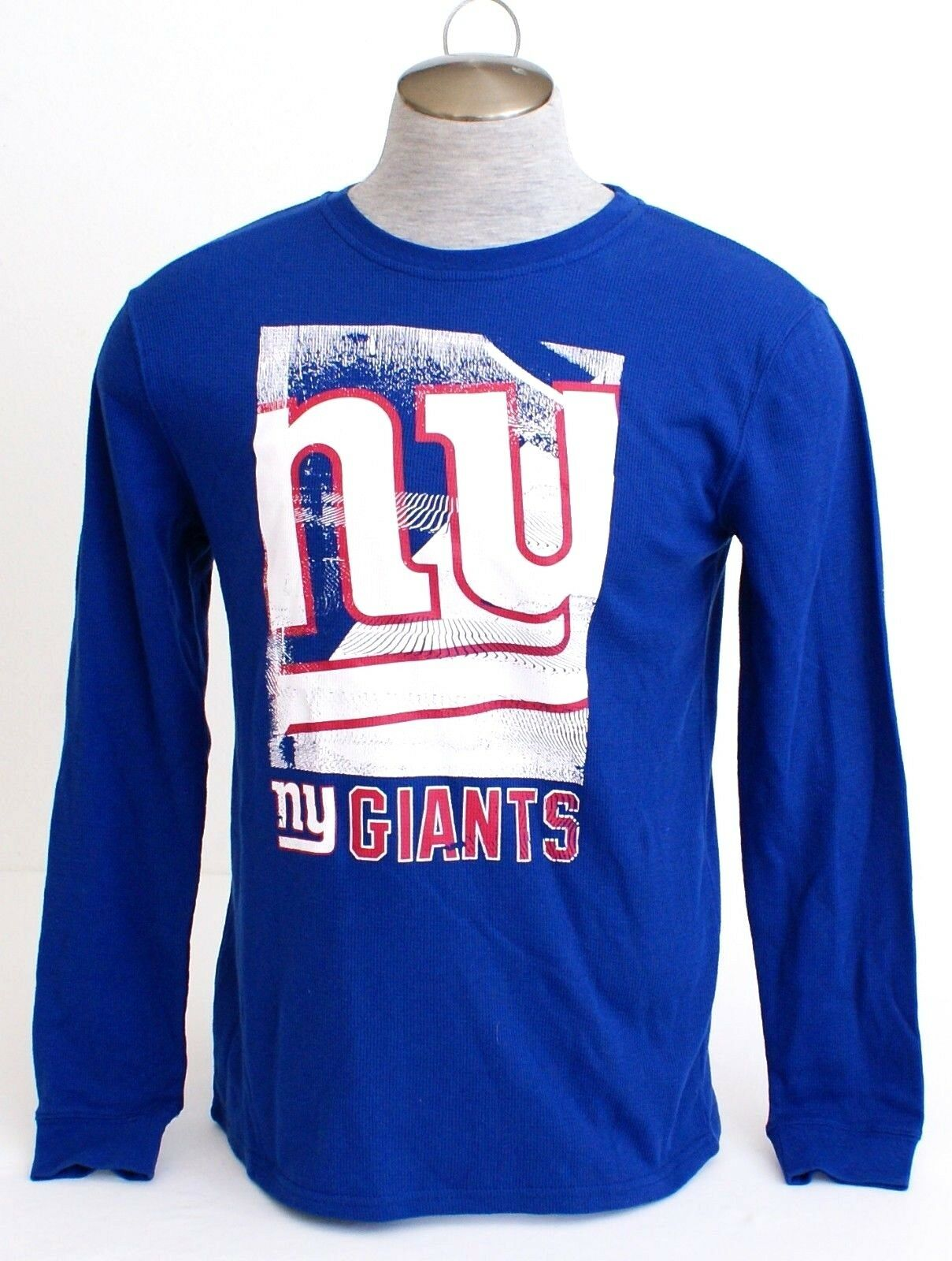 c95ac69d NFL Team Apparel NY Giants Sleeve Thermal Shirt Men's NWT bluee Long ...