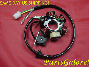 12 Coil 5 Wire Stator 125 125cc 150 150cc GY6 Honda Chinese Scooter Trike Buggie