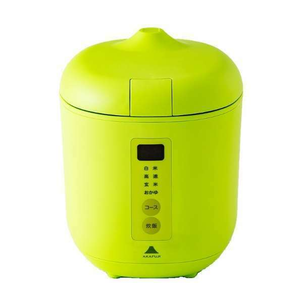 From Japan  Just 10 minutes  Portable Electric Rice Cooker Maker Poddi Grün