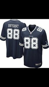 Men s Dallas Cowboys Dez Bryant Nike Navy Blue Team Color Game ... da1b87576
