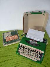 Machine à écrire Brother métal customisée Scrabble unique typewriter custom