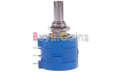 10K Ohm 3590S-2-103L Rotary Wirewound Precision Potentiometer Pot 10 Turns HFUK
