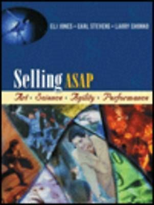 Selling ASAP: Art, Science, Agility, Performance, Jones, Eli & Stevens, Carl & C