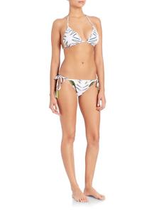 Lalesso Beach Two Piece Pembe Tatu Bikini Size S