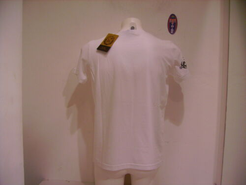 SCORPION BAY T SHIRT UOMO MANICA CORTA MTE2952 WHITE BIANCO TG L