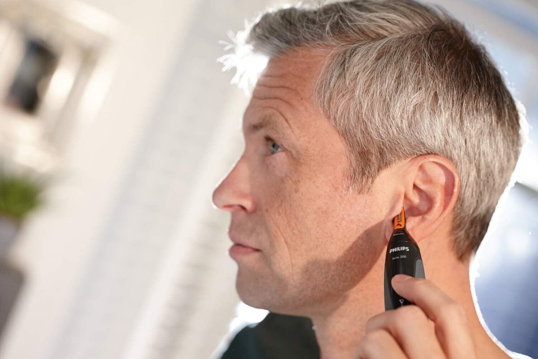 Philips NT316010 Series 3000 Nasen und Ohrenhaartrimmer Augenbrauen Zupfen