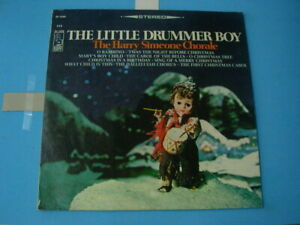 GB-LP-VINYL-RECORD-THE-LITTLE-DRUMMER-BOY-The-Harry-Simeone-Chorale-USED