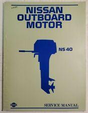 nissan outboard motor ns3.5 service manual | ebay  ebay