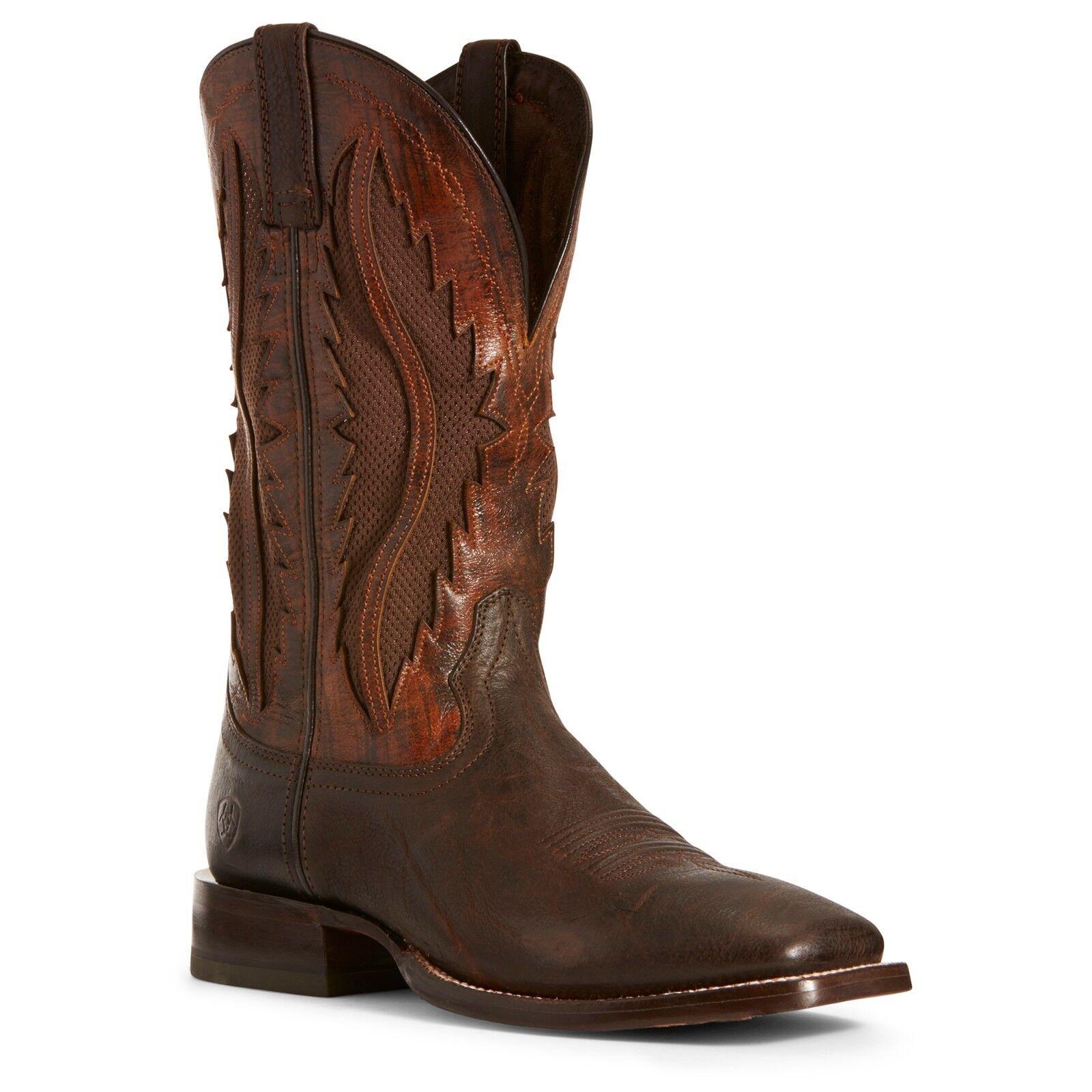 Ariat® Men's Traditional VentTEK® Tobacco Bay Sienna Boots 10027170