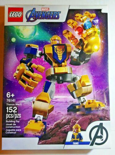 Lego Marvel Superheros 76141 Avengers Endgame Thanos Mech Model Building Kit