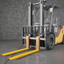 Vevor 84x58 Forklift Pallet Fork Extensions Pair Slide Clamp Lifting 213cm