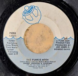 NEW-ORLEANS-FUNK-45-SMOKEY-JOHNSON-amp-COMPANY-The-Funkie-Moon-Tippin-Lightly