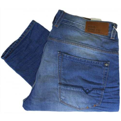 Voi Jeans Harvey 2025 Slim Tapered Fit Powder Blue Jeans