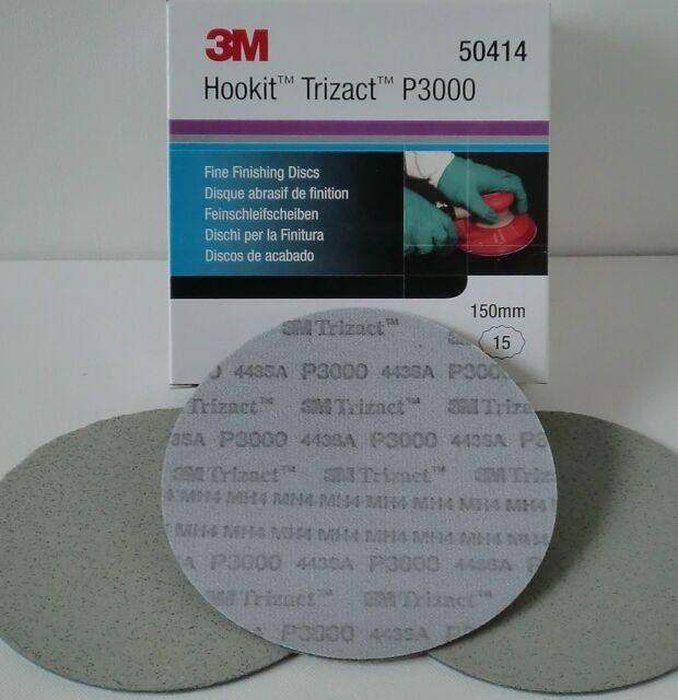 3M 443SA Trizact Feinschleifscheibe P3000 150mm