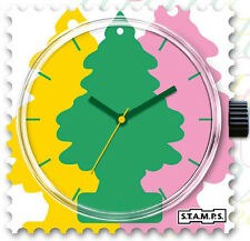 S.T.A.M.P.S stamps Uhr Ziffernblatt  Stamps Flavour Deep Forest NEU OVP