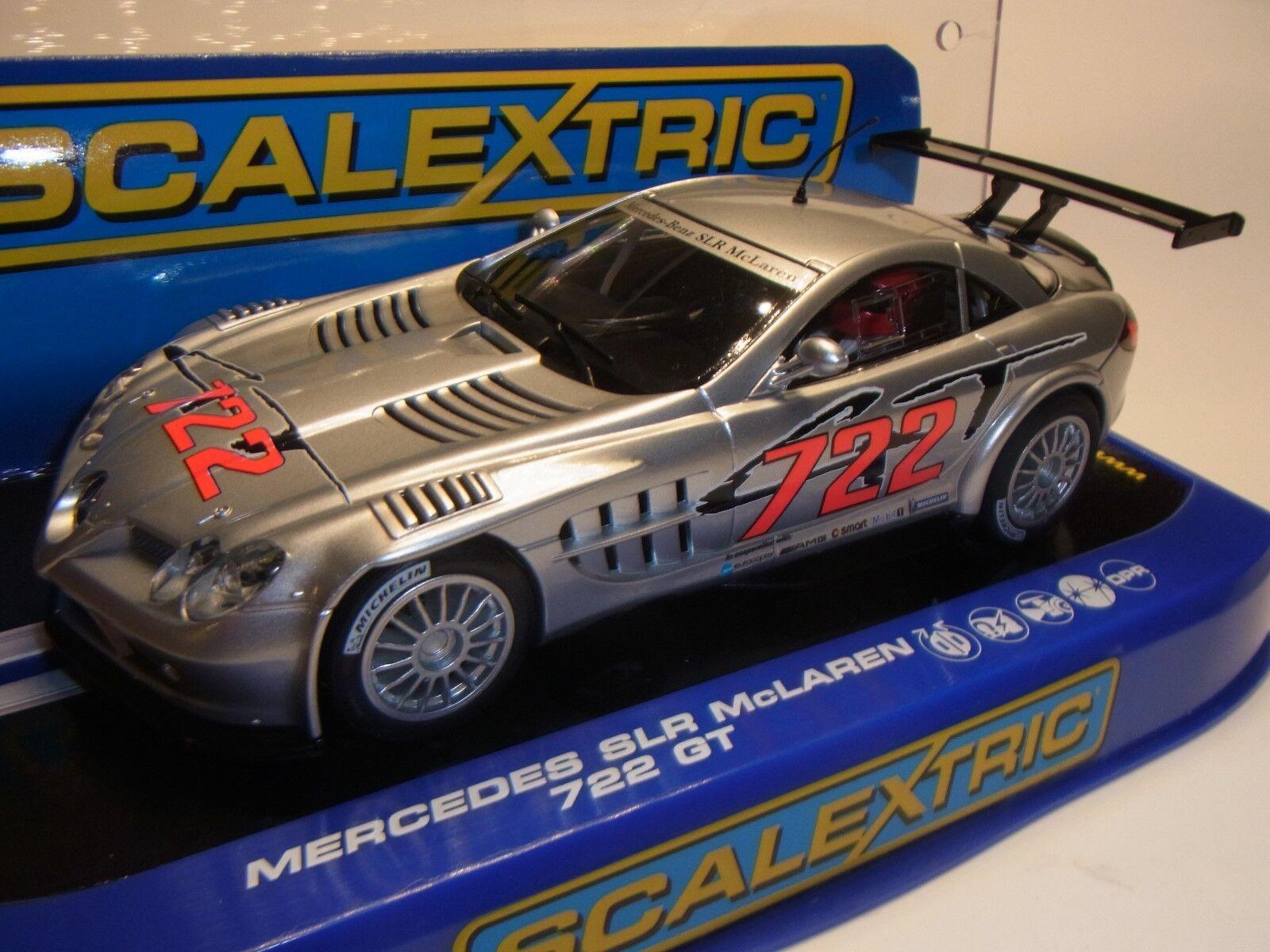 Scalextric Mercedes SLR McLaren 722GT C3010 C3010 C3010 für Autorennbahn Slotcar 1 32  | Ästhetisches Aussehen  a52dfb
