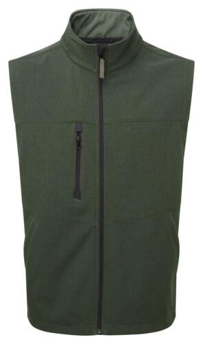 Castle Fortress 287 Naseby green fleece soft-shell body-warmer small-3XL
