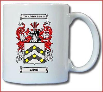 Rodwell Coat Of Arms Coffee Mug Ebay