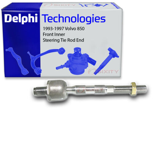 Control nd Delphi Front Inner Steering Tie Rod End for 1993-1997 Volvo 850