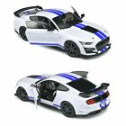 Solido S1805904 Ford Mustang Shelby GT500 Fast Track 2020 1:18 Oxford Blanc Figurine de Voiture