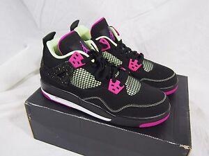 16365fe279ee Image is loading Nike-Air-Jordan-4-IV-30th-Anniversary-Girl-
