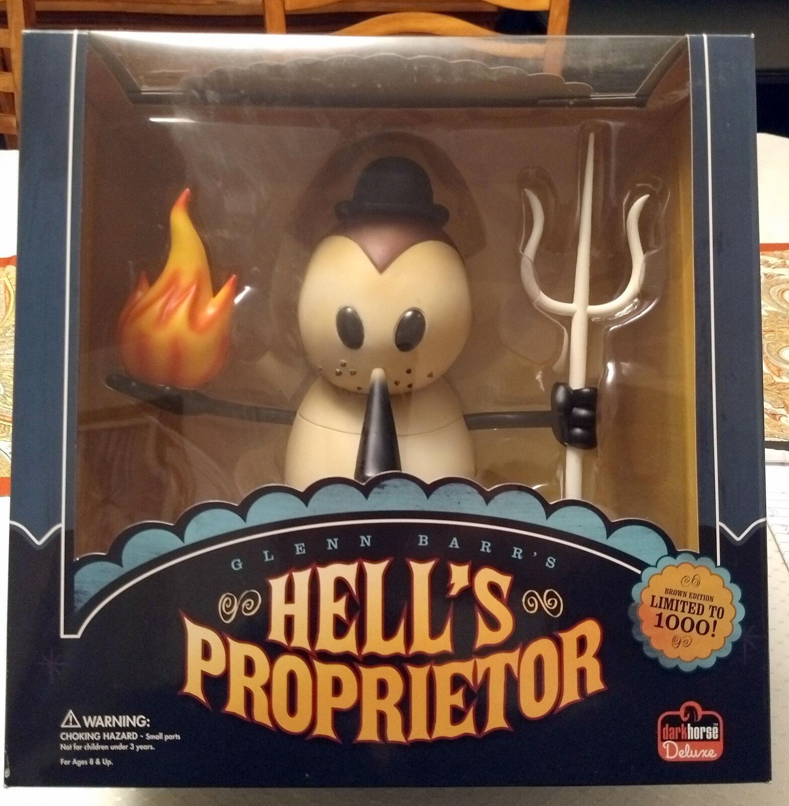 Hell's Proprietor by Glenn Barr. Dark Horse Deluxe. Braun Edition Ltd to 1000