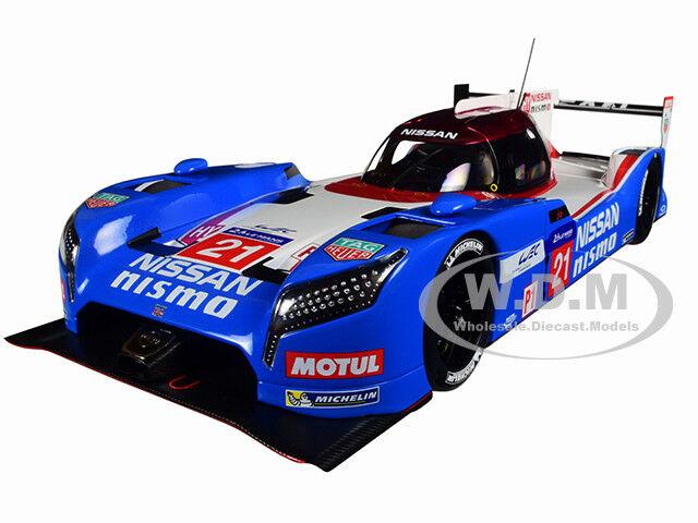 calidad fantástica Nissan Gt-r Lm Nismo Le Mans Mans Mans 2015 T. Matsuda, L. Ordoñez  21 1 18 Autoart 81579  ahorre 60% de descuento